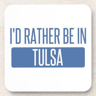 Posavasos Estaría bastante en Tulsa