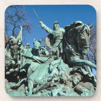 Posavasos Estatua de la guerra civil en Washington DC