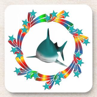 Posavasos Estrellas del tiburón