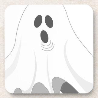 Posavasos ¡Fantasma de Halloween - ABUCHEO!