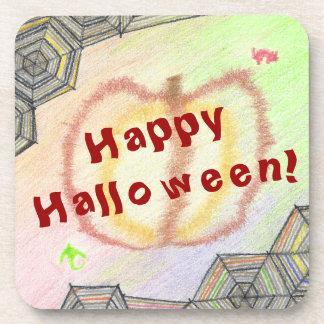 Posavasos ¡Feliz Halloween! Prácticos de costa plásticos