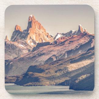 Posavasos Fitz Roy y Patagonia de las montañas de Poincenot