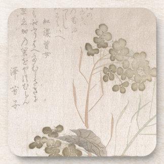 Posavasos Flor de Natane - origen japonés - período de Edo