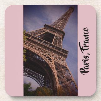 Posavasos Foto famosa de la señal de la torre Eiffel de
