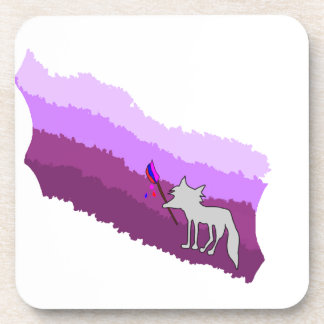 Posavasos Fox de colores