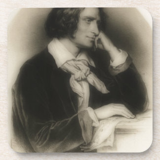 Posavasos Franz Liszt joven - retrato
