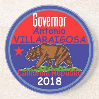 Posavasos Gobernador 2018 de VILLARAIGOSA