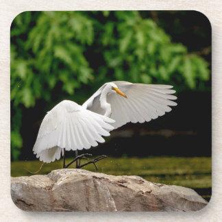 Posavasos Gran Egret