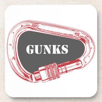 Posavasos Gunks que suben mosquetón