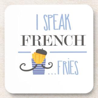 Posavasos Hablo francés… Fritadas