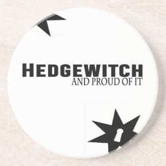 Posavasos Hedgewitch y orgulloso de él