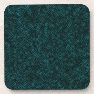 Posavasos Hilo azul de Posterized