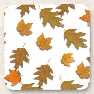 Posavasos Hojas de arce del otoño