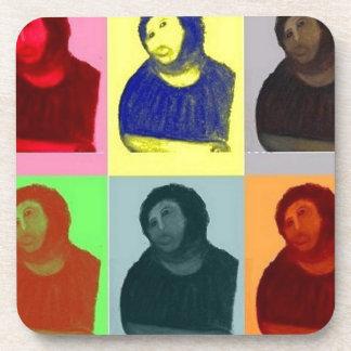 Posavasos Homo de Ecce - estilo del arte pop