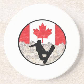 Posavasos Huéspedes canadienses