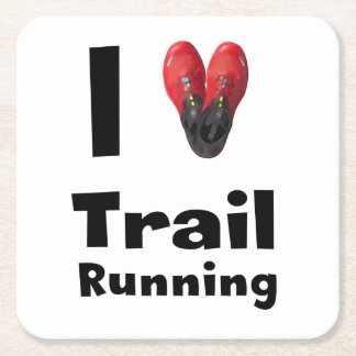 "Posavasos ""I love Trail Running"""