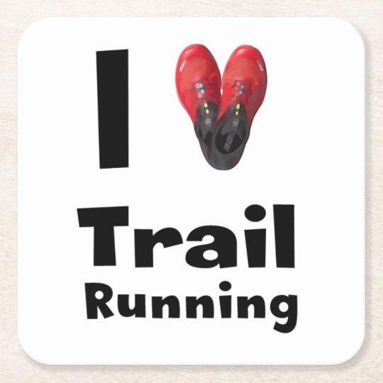"Posavasos ""I love Trail Running"""