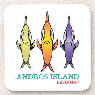 Posavasos Isla 3-Fishes de Andros