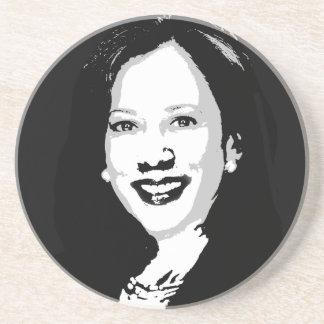 Posavasos Kamala Harris para presidente Portrait
