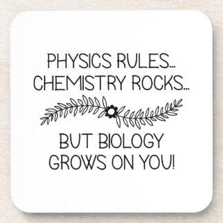 Posavasos La biología crece en usted