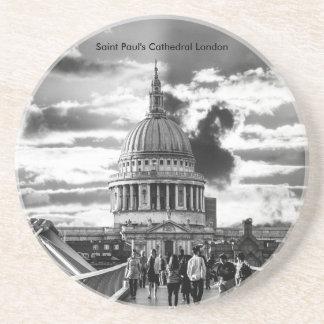 Posavasos La catedral Londres de San Pablo