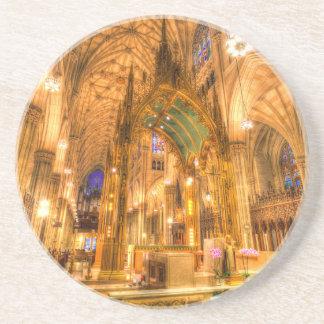 Posavasos La catedral Manhattan Nueva York de St Patrick