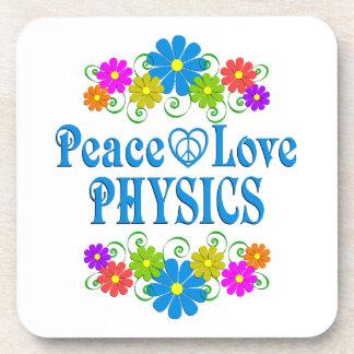 Posavasos La física del amor de la paz