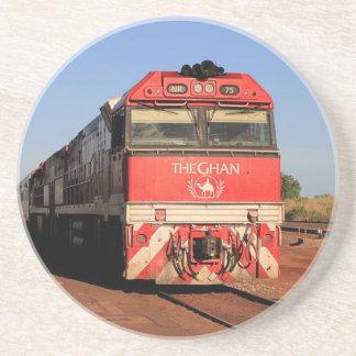 Posavasos La locomotora del tren de Ghan, Darwin