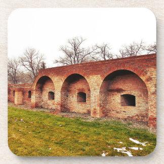 Posavasos La pared de la fortaleza