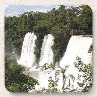 Posavasos Las cataratas del Iguazú, la Argentina, Suramérica