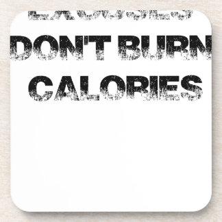 Posavasos Las excusas no queman calorías - ejercite,