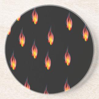Posavasos Llamas del fuego