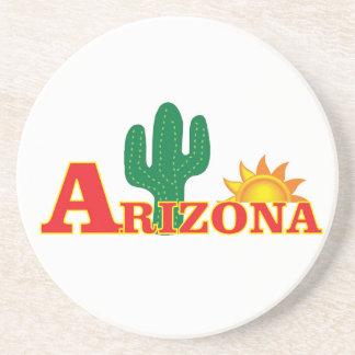 Posavasos Logotipo de Arizona simple