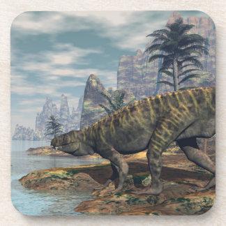 Posavasos Los dinosaurios -3D de Batrachotomus rinden