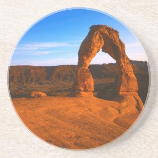 Posavasos Los E.E.U.U., Utah, arquean el parque nacional,