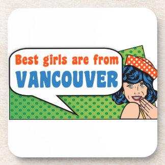 Posavasos Los mejores chicas son de Vancouver
