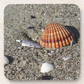 Posavasos Los Seashells el verano de la arena varan la