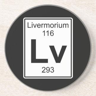 Posavasos Lv - Livermorium