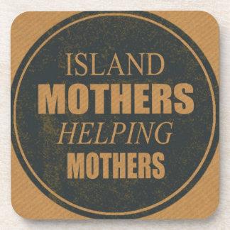 Posavasos Madres de la isla que ayudan a los prácticos de