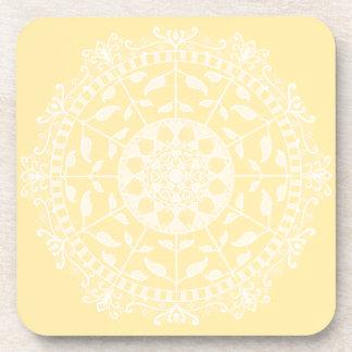 Posavasos Mandala del pergamino