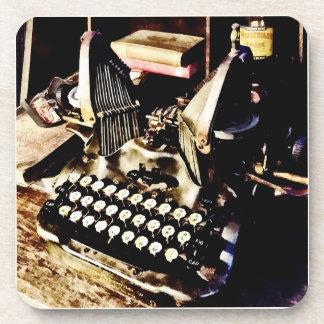 Posavasos Máquina de escribir antigua Oliverio #9