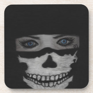 Posavasos Máscara del cráneo