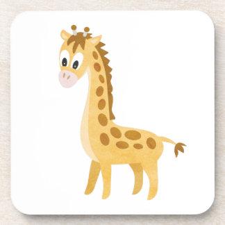 Posavasos Mi pequeña jirafa