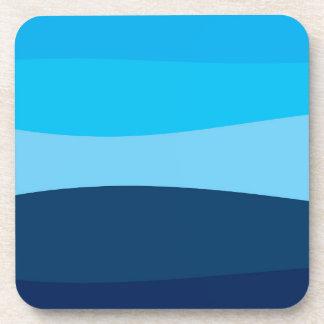 Posavasos Modelo abstracto - azul