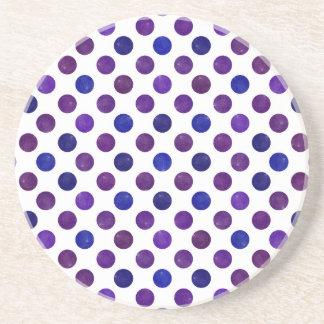 Posavasos Modelo de puntos precioso XV