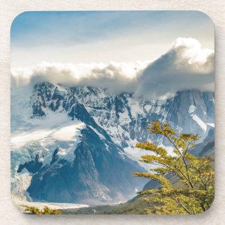 Posavasos Montañas Nevado los Andes, EL Chalten la Argentina