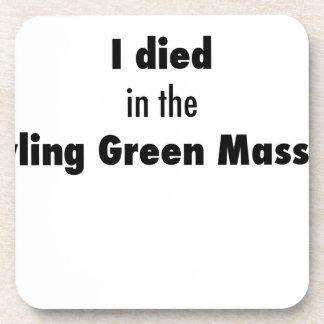 Posavasos Morí en la masacre de Bowling Green