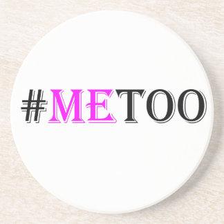 Posavasos Movimiento del #METOO para las derechas para mujer