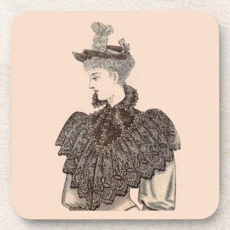 Posavasos Mujer 1897 del Victorian