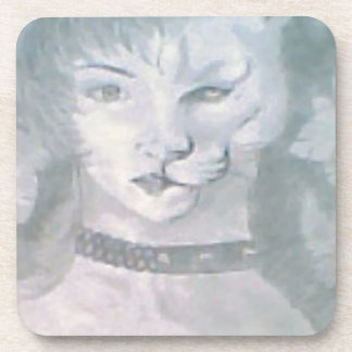 Posavasos Mujer del gato